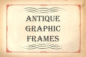 Antique Graphic Frames