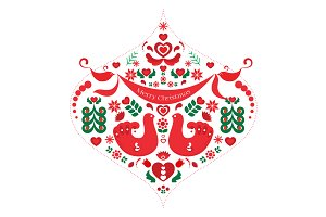 Scandinavian Motif Ornament