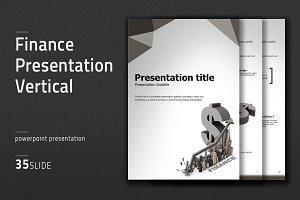Finance Presentation Vertical
