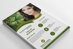 Small Business Flyer & Logo Design
