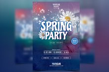 Spring Party - PSD Flyer