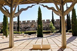 Old Jerusalem Solomon's Stables