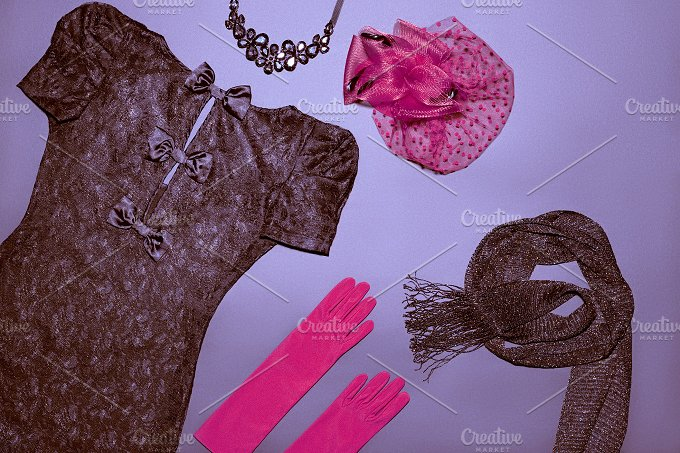 Fashion clothes on black.jpg - Beauty & Fashion