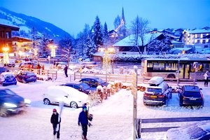 Alpine village in Tirol, Austria
