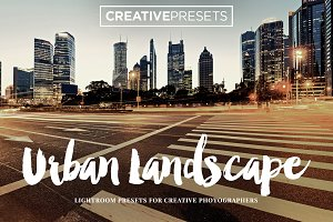 +20 Urban Landscape Lightroom Preset