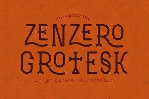 Zenzero Grotesk