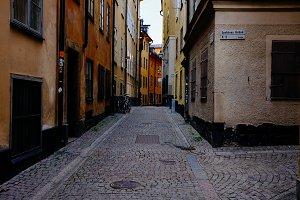 Little Stockholm street