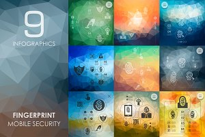 9 fingerprint infographics