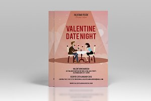 Valentines Day Party Flyer-V169