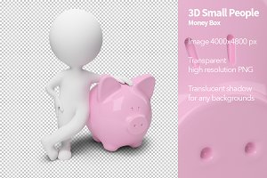 3D Small People - Money Box