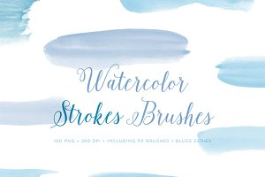 Photoshop Brushes Watercolour set