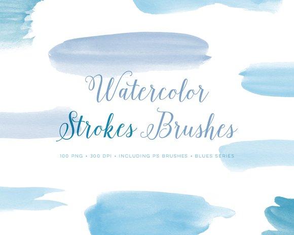Photoshop Brushes Watercolour set