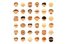 People face icons