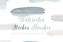 Watercolor Photoshop Brushes ABR