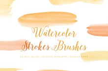Painted Photoshop Brushes Watercolor