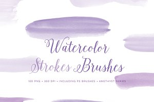 Watercolour Paint Photoshop Brushes