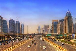 Boulevard in Dubai