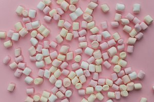 marshmallow, marshmallows, candy, ba