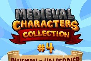 Medieval Game Sprites Characters 4