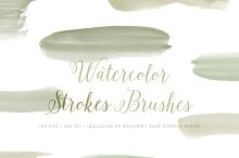 Watercolor Photoshop Brushes CC