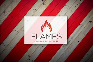[68% off] Flames - Logo Design