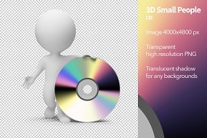 3D Small People - CD