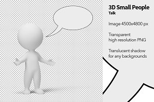 3D Small People - Talk