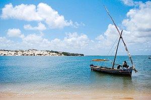 Doha boat in Africa