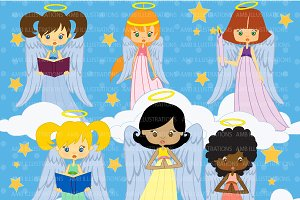 Little Angels Clipart AMB-255