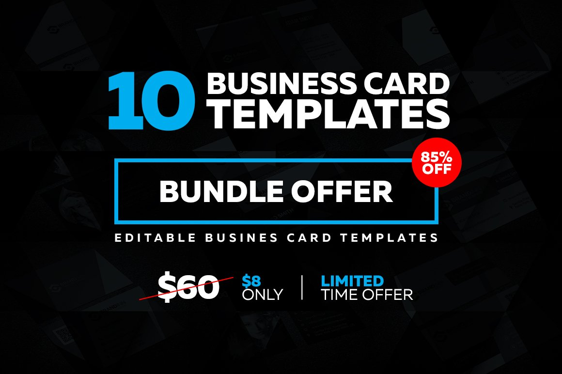 10 creative business card templates business card templates 10 creative business card templates business card templates creative market flashek Gallery