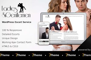 Ladies - Escort Service Theme