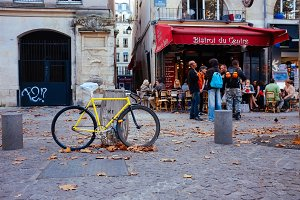Bistro on Paris streets