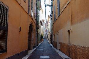 Little Antibes street, France
