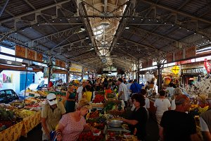 French market in Antibes