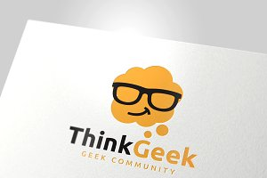 Geek Logo Template