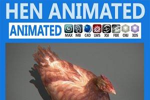 Animated Hen