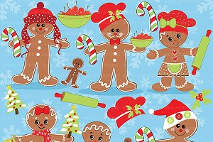 Gingerbread Clipart AMB-377