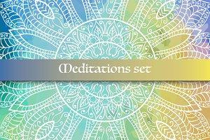 Meditations set