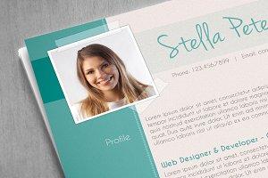 Fancy CV Template