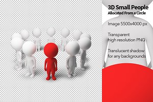 3D Small People - Allocated From a C