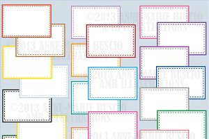 Colorful frames and Labels AMB-477