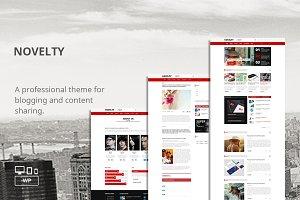 Novelty - WordPress Blog/Magazine