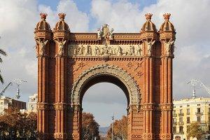 The Triumph Arch in Barcelona