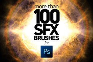 +100 PS SFX BRUSHES
