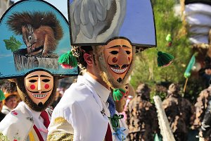 Carnival in Verin Spain