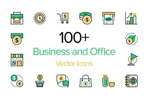 100+ Business and Office Icons