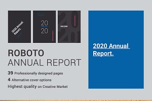 Roboto Annual Report / Brochure
