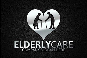 Elderly Care Logo Template