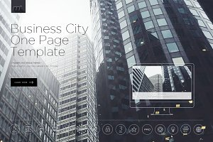 City One Page Template HTML