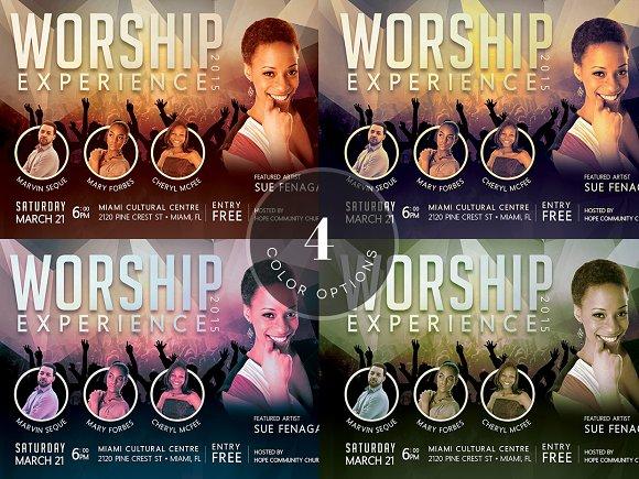 Church Concert Flyer Photoshop Flyer Templates Creative Market